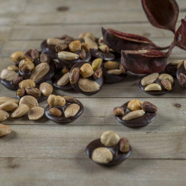 Chocolate y frutos secos